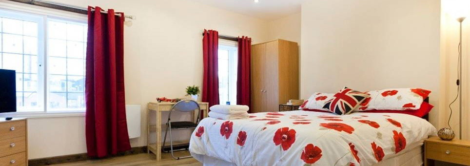 Self Catering Single Rooms in Nottingham, England